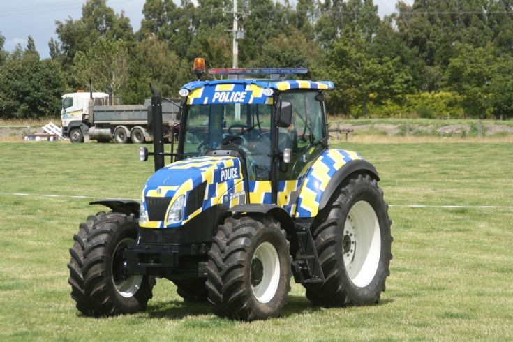 NZ Police New-Holland