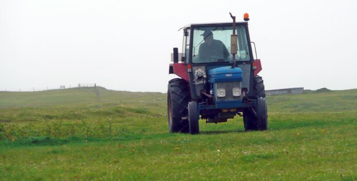 Unidentified Ford tractor, South Uist