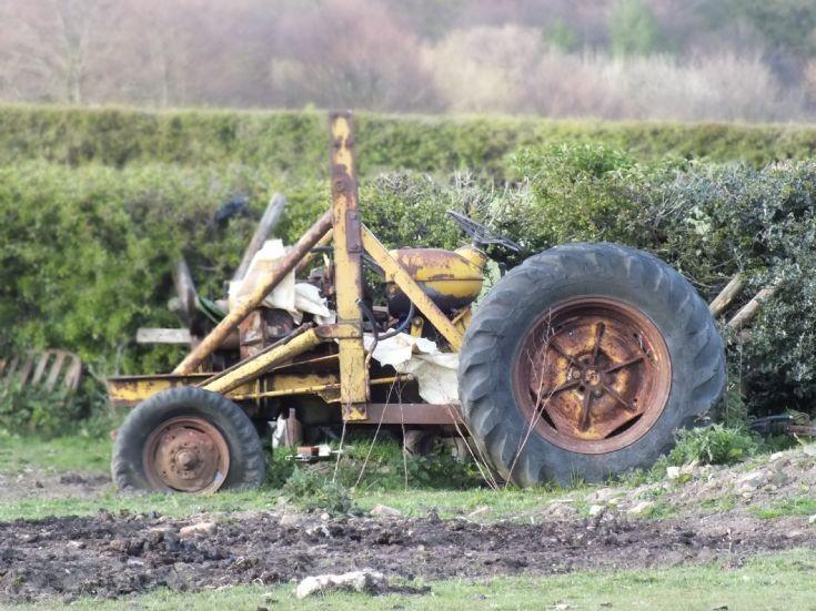On a farm near Sheffield