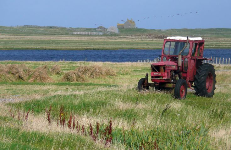 Zetor 5511 on South Uist