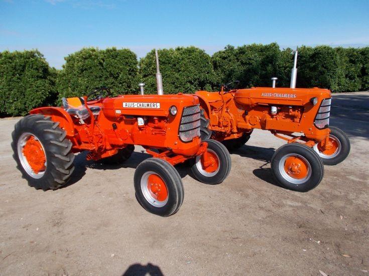 1957 & 1960 Allis Chalmers D-14 Tractors