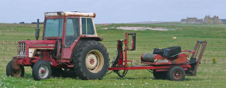 International 68 on South Uist