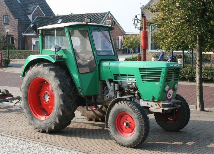Deutz Tractor in the village of Zegveld