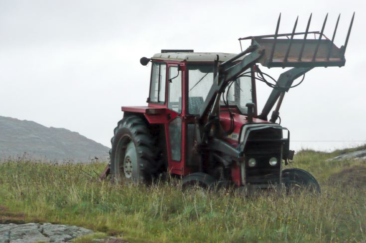 Massey Ferguson 265, Isle of Eriskay
