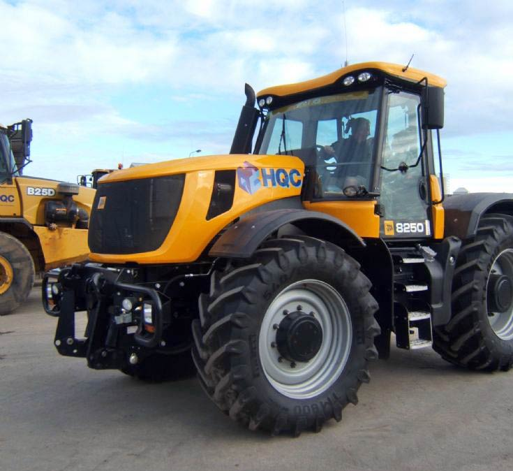 Highland Quality Constructions JCB 8250 fastrac