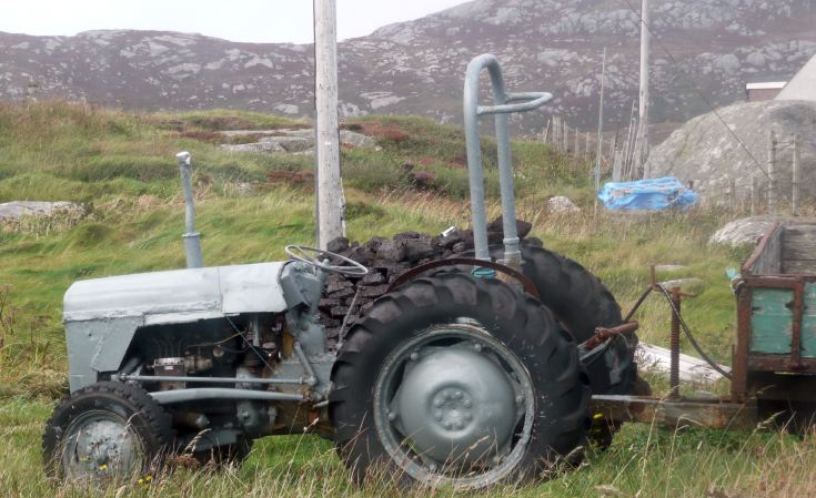 Very sad Massey Ferguson, South Uist