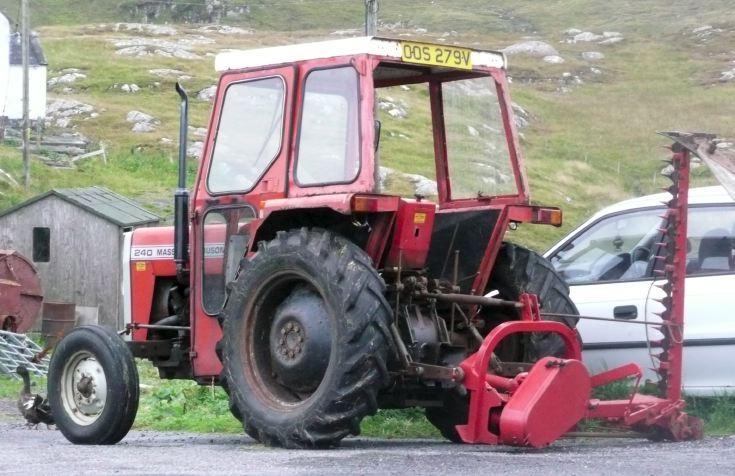 Massey Ferguson 240, Isle of Eriskay