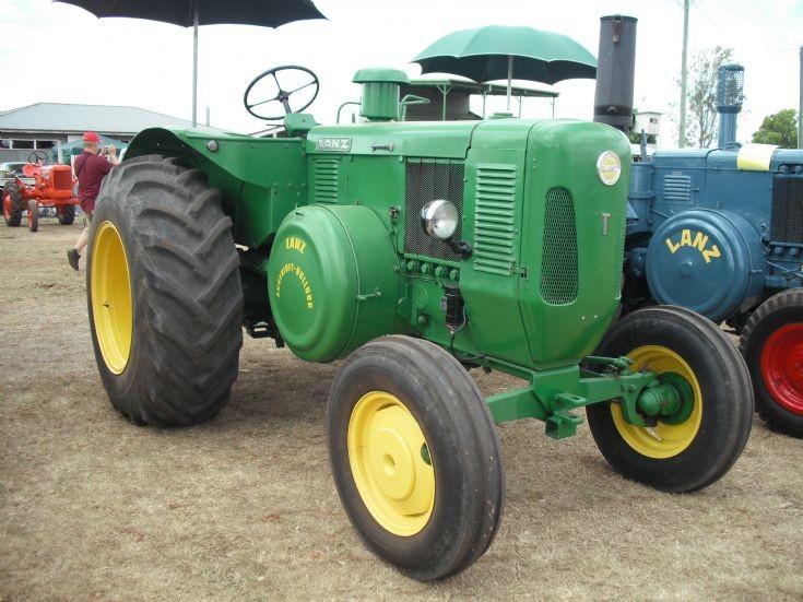 Lanz Tractor, Australia