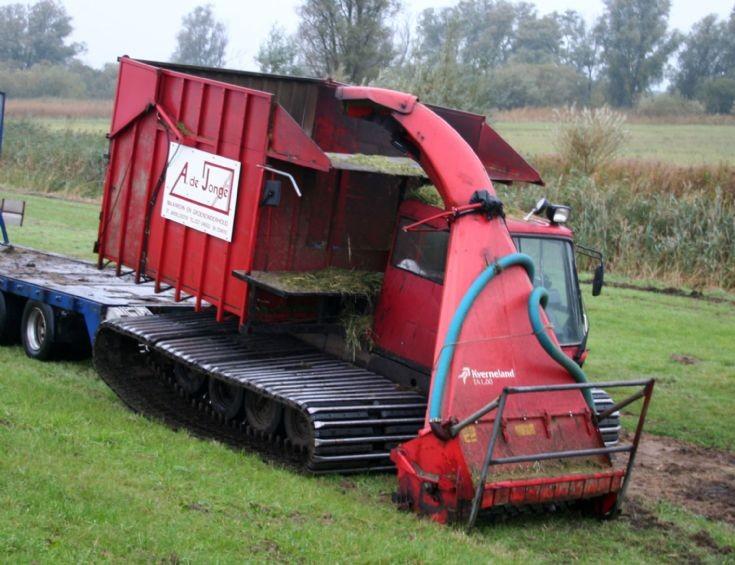 Kassbohrer Pistenbully Harvester