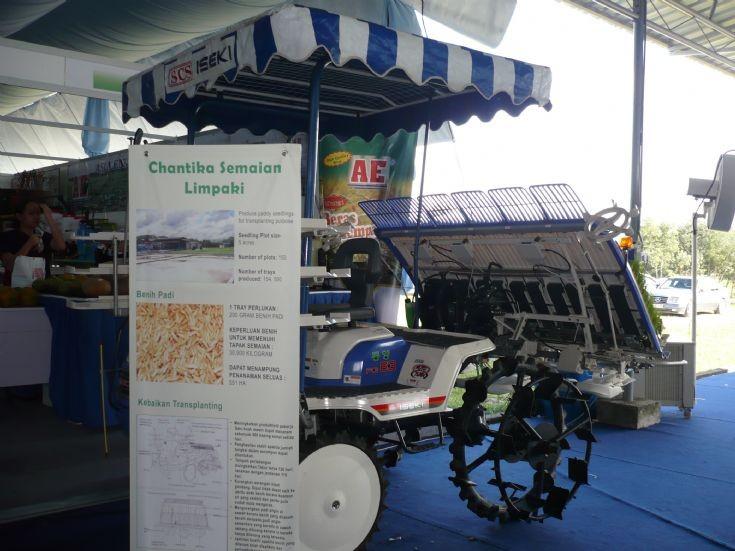 Iseki PG63 rice transplanter