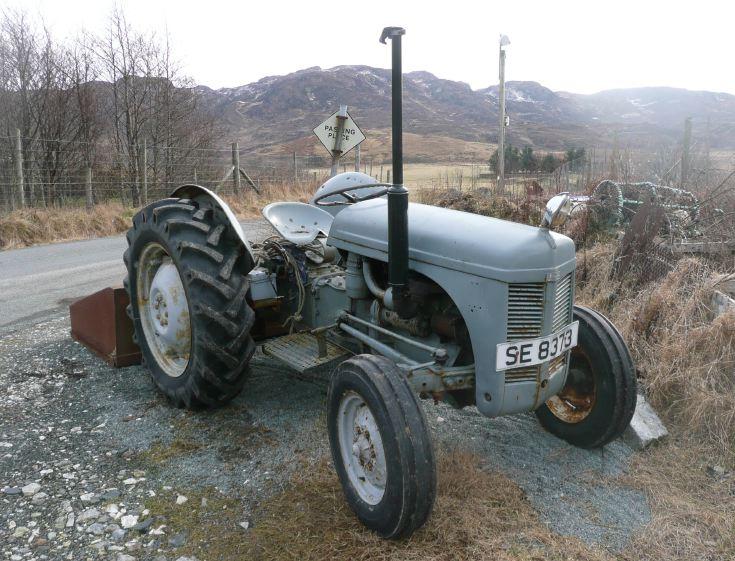 Nice old Ferguson tractor, near Ord, Isle of Skye