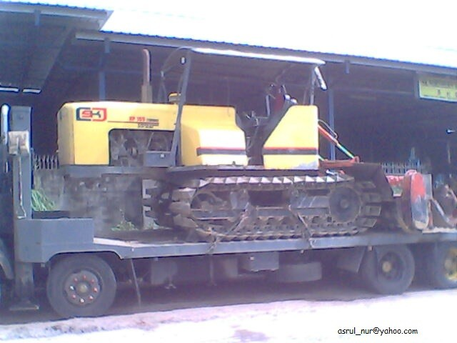 Tracked Tractor