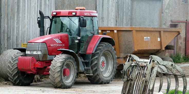 McCormick MTX140 at Eathi Farm, Black Isle, Easter Ross