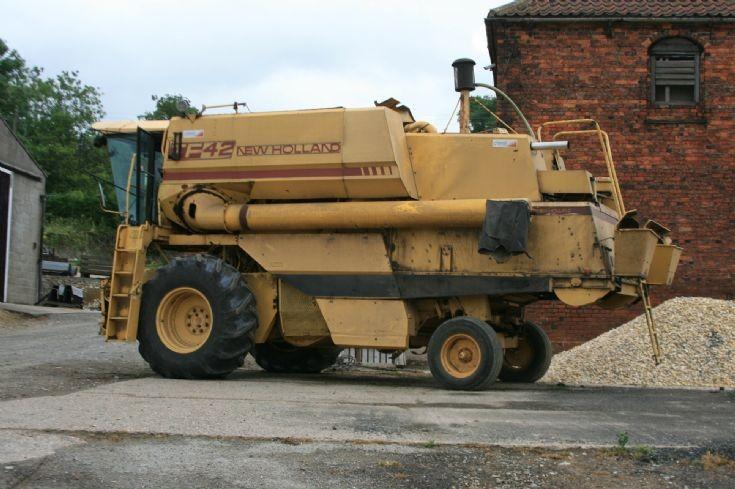New Holland TF42 Combine.