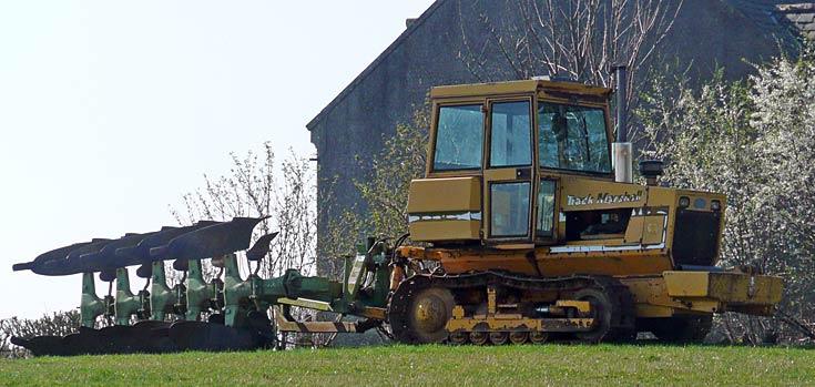 Track Marshall tracked tractor, near Avoch