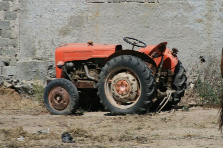 Unknown small tractor.