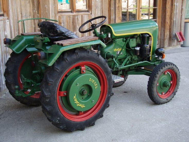 Holder Tractor (Spitzingsee)