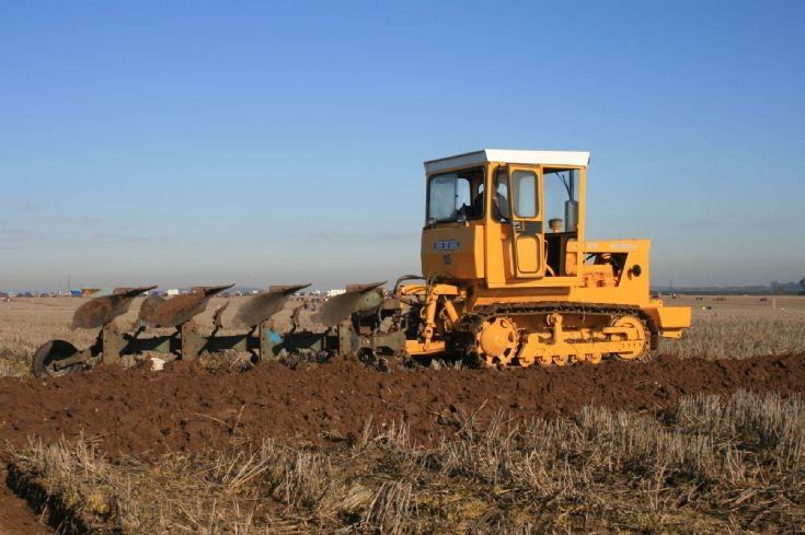 Aveling Marshall ploughing