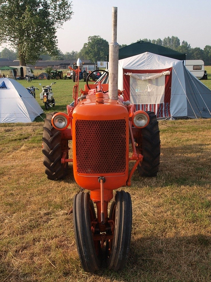 Front view of Allis Chalmers C