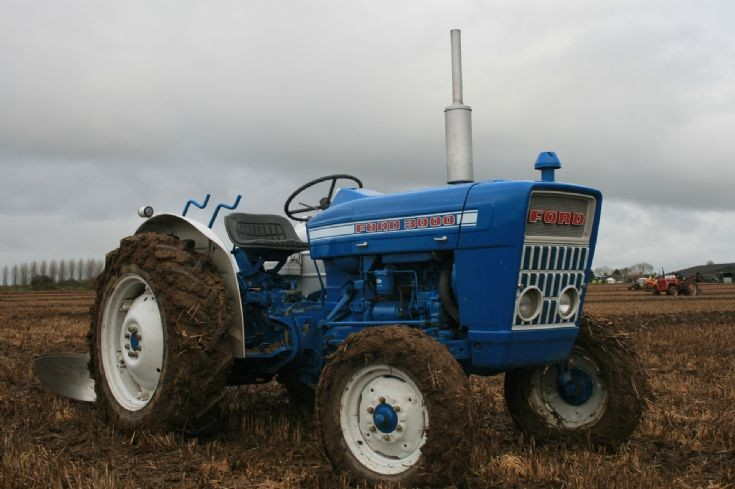 Ford 3000 all alone...