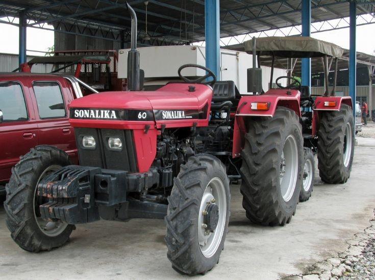 Sonalika 60 4WD