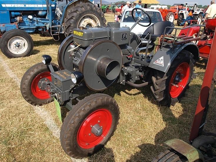 Restored Fendt tractor