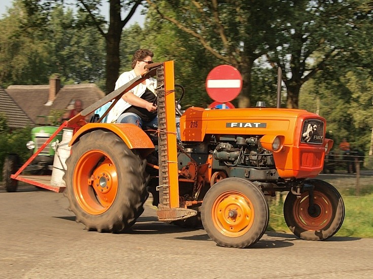 Fiat 215 tractor